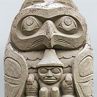 Chief Lelooska (Don Smith) Totem